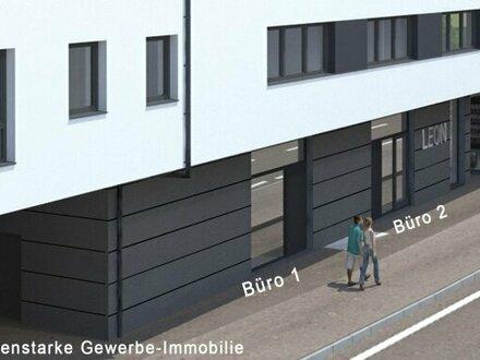LEON - Büro mit 99m² in Linz/Urfahr - Büro 1+2
