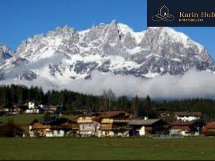 Einzigartiges Wohnen mit Blick über die Kitzbühler Berge