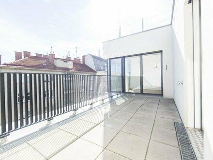 Moderne DG-Wohnung mit 4-Zimmern und Terrasse mitten im 7. Bezirk - unbefristet zu vermieten!