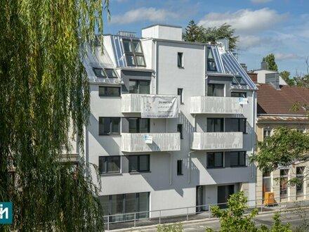 ERSTBEZUG! zentrales Neubau-Büro und angrenzende Wohnmöglichkeit mit Garten in Ruhelage
