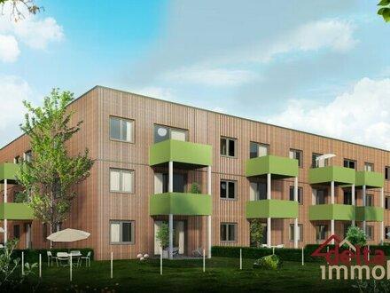 Wohnen mit Komfort in einem ökologischen Wohnbauprojekt