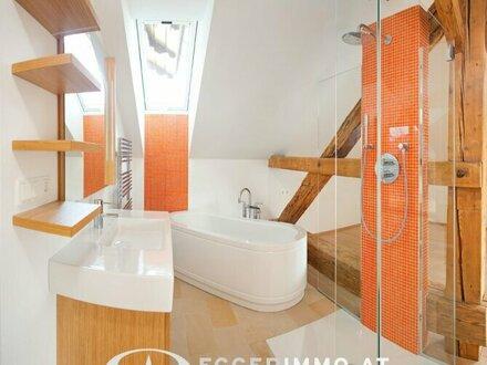 Zell am See - exklusive Dachgeschosswohnung in renovierter VILLA direkt mit Seeblick