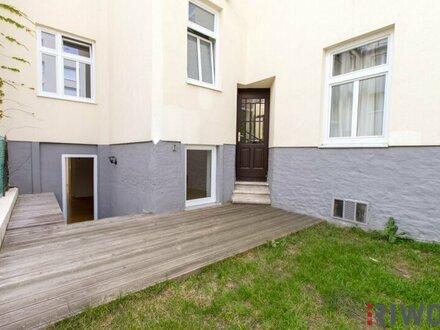 BUSINESS as USUAL - 3 Zimmer Lokal mit Eigengarten   Apartment- oder Zimmervermietung möglich
