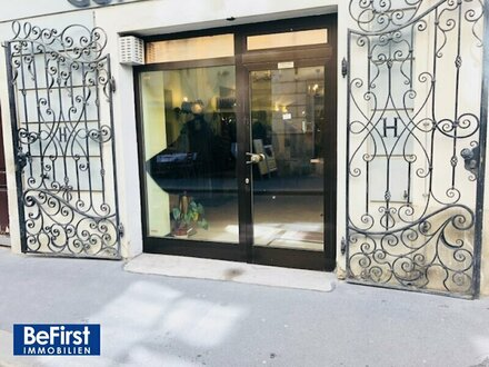 Himmelpfortgasse - elegantes Geschäftslokal sowie separates Büro/Galerie in prachtvollem Palais