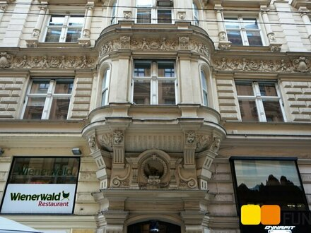50 m vom Stephansplatz: Großzügiges Altbau-Büro im Herzen von Wien