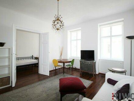 Möblierte Wohnung Nähe Bacherplatz