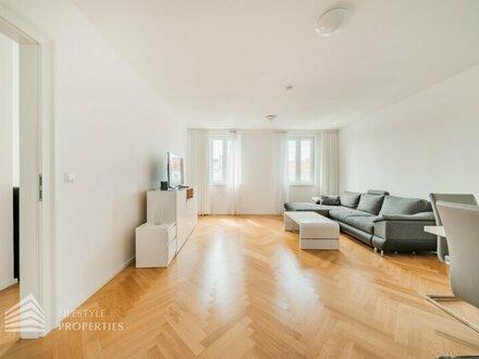 ERSTBEZUG! Exklusive zweistöckige 5-Zimmer Altbauwohnung mit Terrasse, Nähe Volksoper