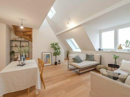 ++EINZIGARTIG++ 3-Zimmer Dachgeschoss-ERSTBEZUG mit Blick aufs Wasser und toller Dachterrasse!
