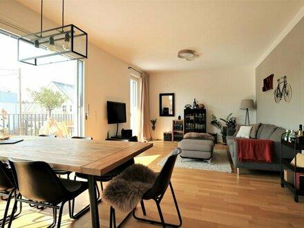 Neuwertige 3-Zimmer-Wohnung mit Sonnenterrasse