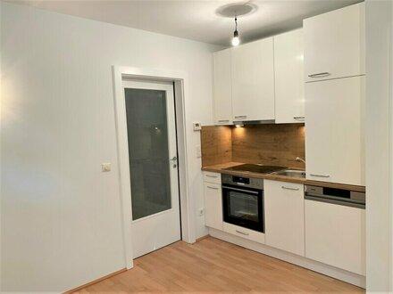 Kleine 2 Zimmer Wohnung mit Terrasse und Garten