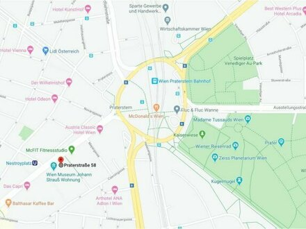 U1 Nestroyplatz/Praterstr. 2 Zimmer! Hofruhelage! (2 verfügbare Wohnungen im Haus)