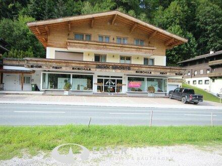5753 Saalbach : Geschäftslokal in sehr frequentierter Lage von Saalbach , Lieferanteneingang, Lift 100m² Lager, Büro, Personalraum,…