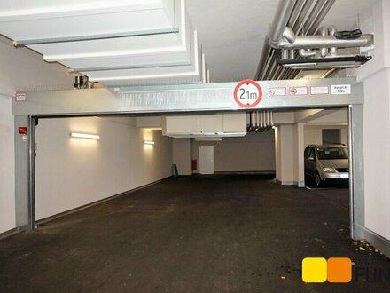 Barrierefreier Garagenstellplatz, Neubau