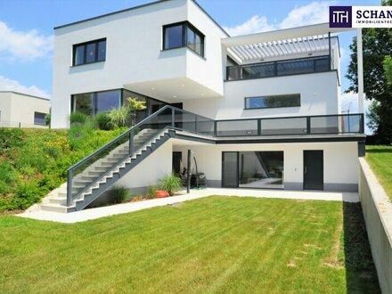 WOW! Hier bleiben keine Wünsche offen: Attraktive Traum-Villa in absoluter Grünruhelage in Pinkafeld!