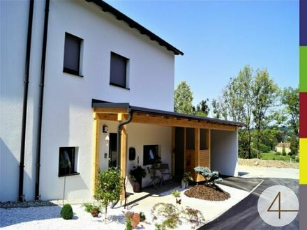 Hochwertiges Doppelhaus in schöner Siedlungs-, Waldrandlage / Neubau