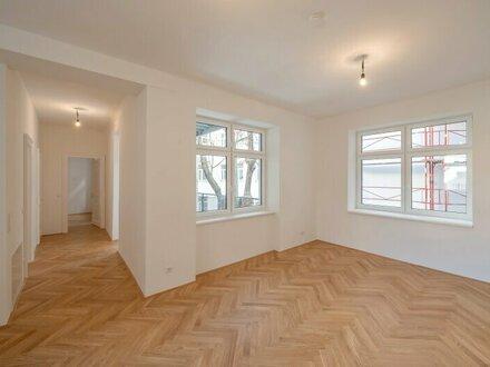 ++Projekt TG 17++ 3-Zimmer ALTBAU-ERSTBEZUG mit 9m² Balkon, umfassend saniertes PROJEKT!