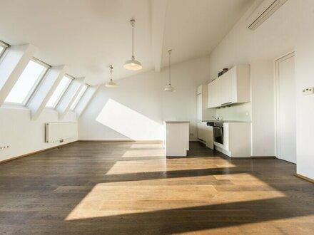 Perfekt aufgeteilte 4-Zimmer DG-Wohnung mit Dachterrasse und Weitblick in 1030 Wien - unbefristet zu mieten!