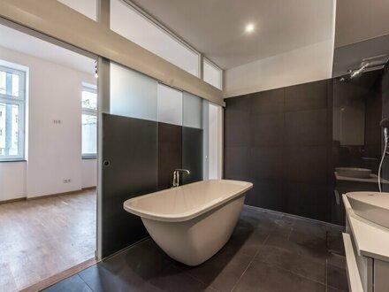 ++NEU++ Außergewöhnliche 2-Zimmer ALTBAU-ERSTBEZUG mit 7m² hofseitigem Balkon!