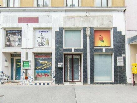 Zur Vermietung gelangt ein gemütliches Café/Verkaufsraum auf der Schönbrunner Straße in 1050 Wien!