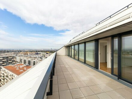 Blick über Wien- SEESEE TOWER - ERSTBEZUG- U-BAHNNÄHE PROVISIONSFREI- Top 105