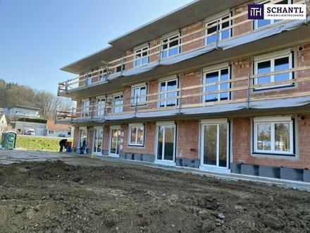 Erstbezug: Feine 3-Zimmer-Wohnung mit Südwestbalkon + Carport