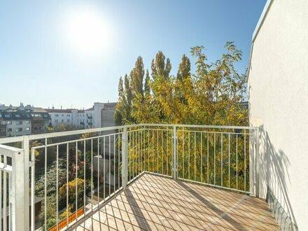 ++DONAUBLICK++ 2,5 Zimmer DG-ERSTBEZUG mit Blick aufs Wasser, Dachterrasse u. Balkon!