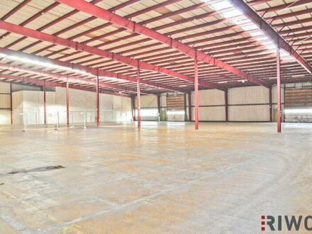 2.500m² Lagerflächen mit Rampen und ebenerdiger Einfahrt! Optionale Freiflächen verfügbar