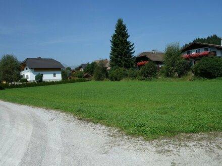 Baurecht: Sonniges Baugrundstück in Mariapfarr