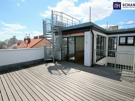 Penthouse-Wohnung mit großer Terrasse! Ein Ort der Inspiration!