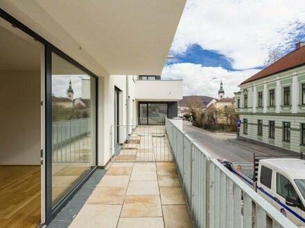ZENTRAL MIT RUNDUM TERRASSE - 3-Zimmerwohnung mit idealem Grundriss - INpurkersdorf