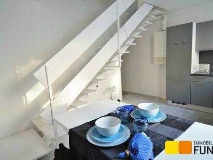 Erstbezug nach Sanierung, 3-Zimmer Design-Maisonette