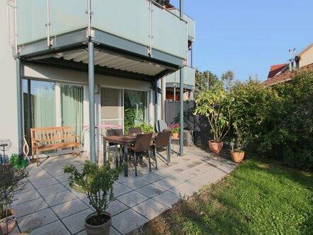 Sonnige Neubauwohnung mir großer Garten-Terrasse!