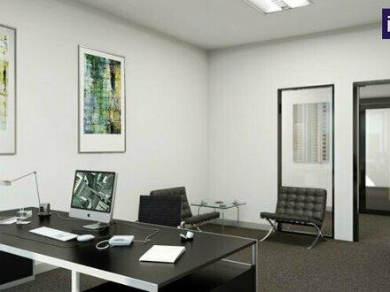 IDEALER GEHT ES NICHT! Arbeiten über dem Westbahnhof: Provisionsfreie Büros in flexiblen Größen! Variable Büroflächen von7m²…