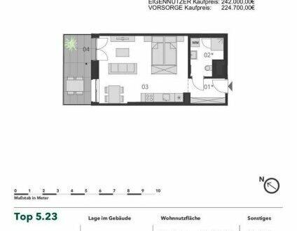 +++ ATTRAKTIVES INVESTMENT! +++ Heimelige 1 Zimmer Eigentumswohnung mit großem Balkon in Stadtnähe