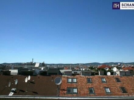 Spannende Drei-Zimmer-Wohnung im Dachgeschoß mit einmaliger Terrasse on Top!!!