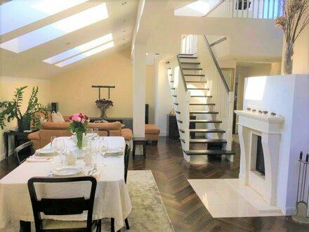Dachgeschoss Maisonette Jahrhundertwendestil