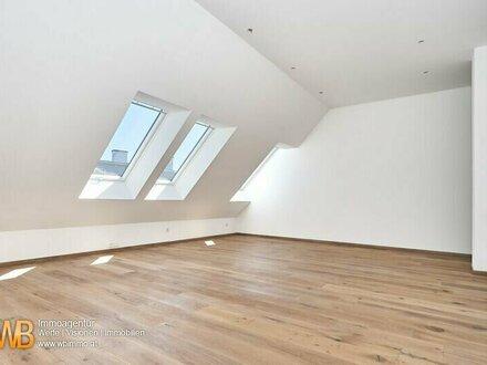 Erstbezug! Möblierte DG Wohnung mit 74 m² + 13,50 m² Terrasse !