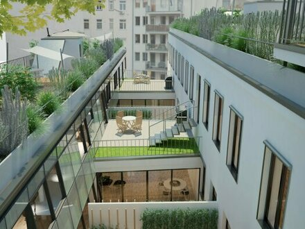 Mehr Raum. Mehr Wert. Mehr Grün: Mini-Bürohaus mal anders