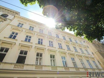 ++ MITTEN IM SECHSTEN ++ Grandiose 4-Zimmer-Stil-Altbauwohnung mit hohen Räumen in Ruhelage nahe dem Raimund Theater