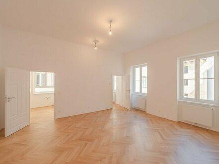 ++Videobesichtigung++ Hofruhelage, 2-Zimmer + getrennte Küche, ALTBAU-ERSTBEZUG in toller Lage!