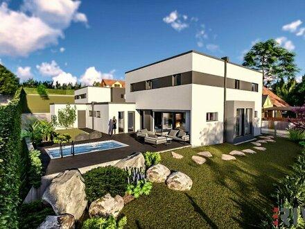 Wohnerlebnis Einfamilienhaus - 7 Zimmer, Pool, Doppelgarage uvm.