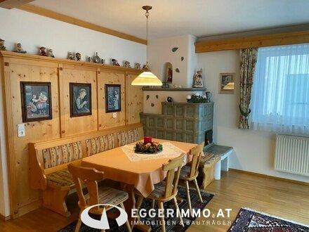 5751 Maishofen: Vollmöblierte, gepflegte 3 Zimmerwohnung ( 88m² ) mit sonnigem Balkon, separatem Kellerabteil und Carpo…