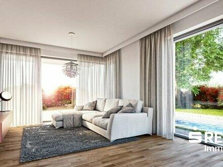 Puchenau/Am Sonnfeld - Exklusive Doppelhaushälfte