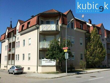 Eigentumswohnung mit schönem Eckbalkon und Garagenplatz