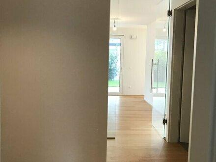 Neubau in Bestlage: Moderne 3-Zimmer-Gartenwohnung
