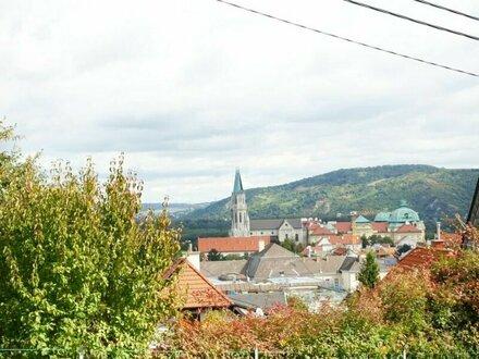 Gepflegtes Häuschen mit schöner Aussicht auf Klosterneuburg