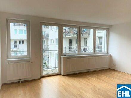 Top 2 Zimmerwohnung mit Balkon Nähe Neubaugasse