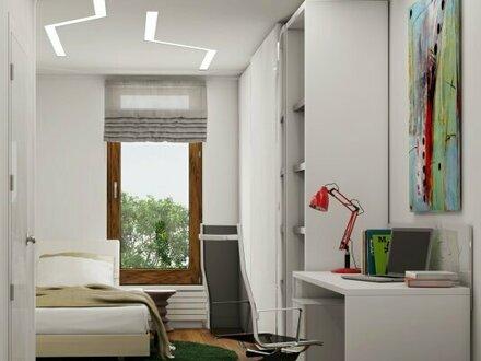 Erstbezug: Mietwohnung mit Maisonette-Charakter und 2 Terrassen
