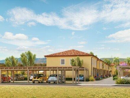 ***RESERVIERT*** ACHTERSEE - Sonnige, exlusive & klimatisierte Doppelhäuser mit Toskana-Flair - HAUS 10 - MASSIVHAUS!