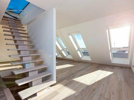 Provisionsfrei: Moderne Dachwohnung mit Terrasse, toller Fernblick